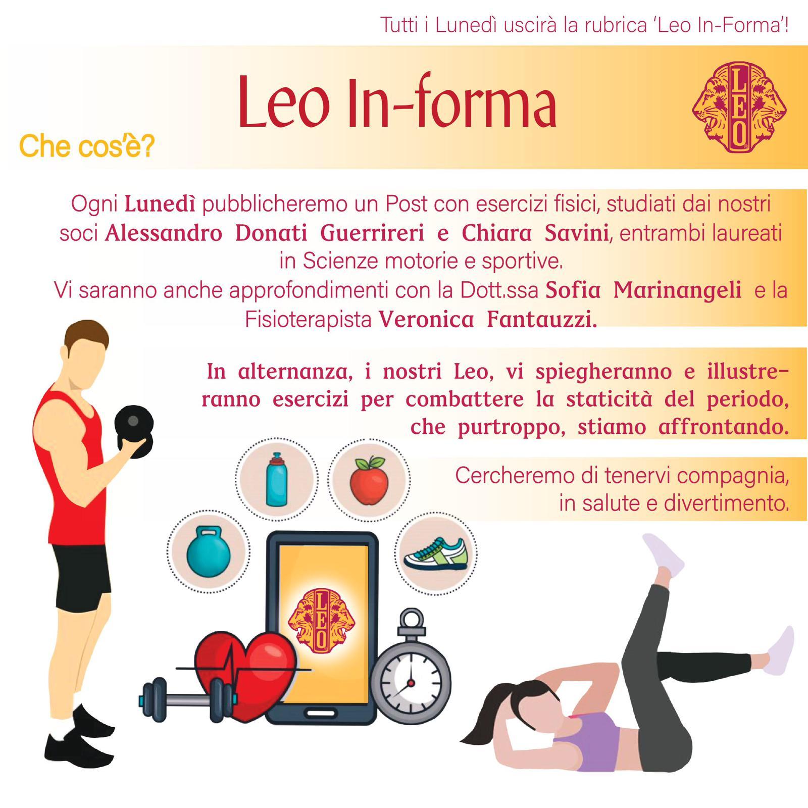 Leo in-forma