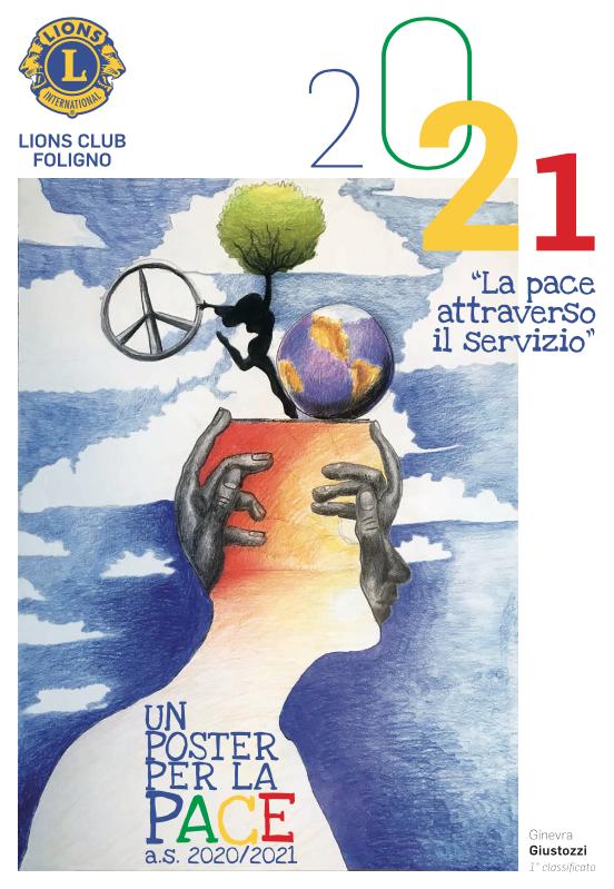 vincitore poster per la pace